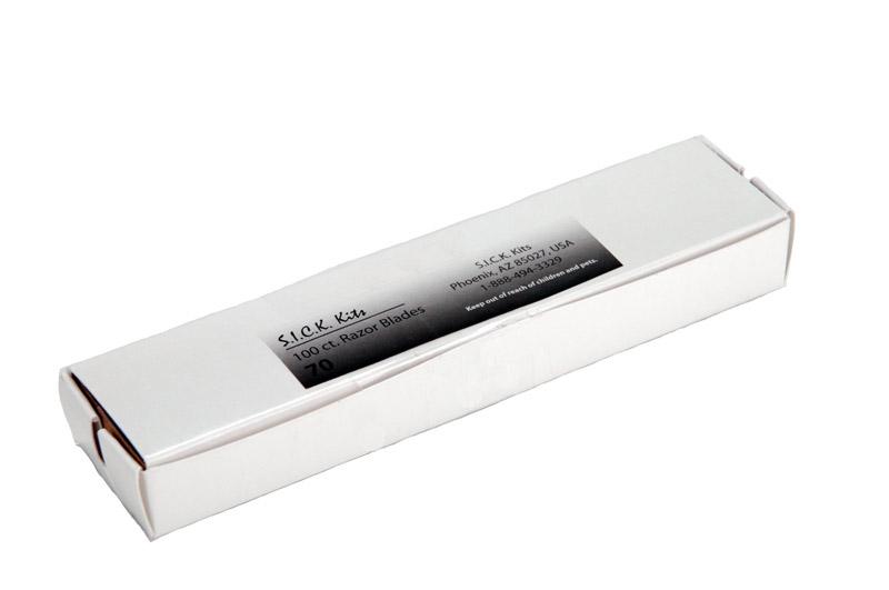Razor Blades - Pack 100