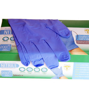 Nitrile Gloves, Powder Free Nitrile, Small