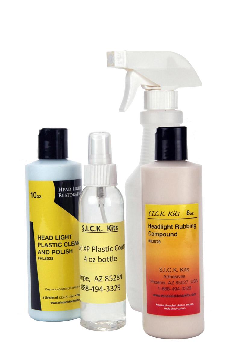 Headlight Restoration Liquid Refill
